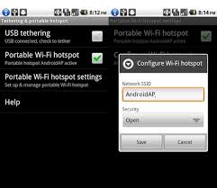 android mobile hotspot next version of android to offer tethering and mobile hotspot features