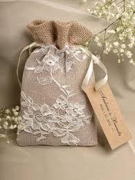 burlap wedding favor bags rustic burlap wedding favor bag birch bark