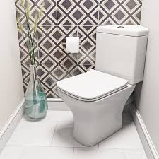 Square Toilet by Orchard Derwent Square Compact Corner Close Coupled Toilet With