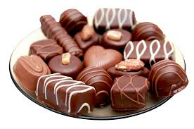 Chocolates by Chocolates In Plate Png Image Pngpix