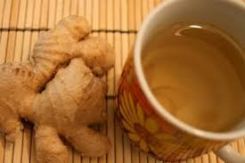 image of ginger tea and ginger