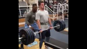 Nfl Combine Wr Bench Press Watch Unc Wr Ryan Switzer Hang Clean 352 Pounds And Go Absolutely