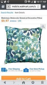 mainstays fretwork decorative pillow teal 9 95 at walmart
