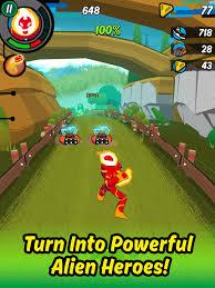 speed app ben 10 cartoon network