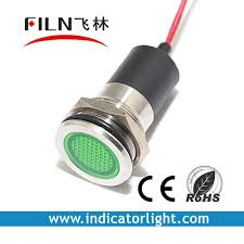 panel mount indicator lights 19mm flat head red led panel mount led indicator lights 24 volt fl1m