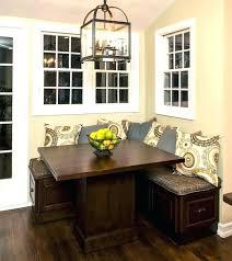 corner table with bench kitchen oak veneer wood corner bench dining