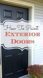 Painting Exterior Doors Ideas Front Door Front Door Painting Idea Creative Front Door Painting