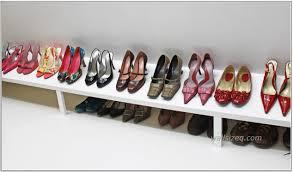 Shoe Home Decor Build Shoe Rack In Closet Home Decor Ideas