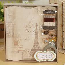 photo album scrapbook eno greeting vintage photo album scrapbook kit diy complete