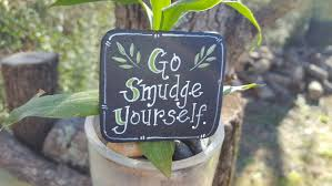 go smudge yourself magnet sage kitchen decoration home decor