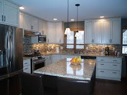 white kitchen cabinets granite countertops images preferred home