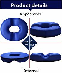 donut seat cushion orthopedic ring pillow large 16 1