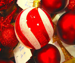 red and white ornaments christmas tree best images collections