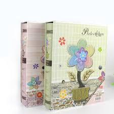 cheap wedding photo albums free shipping baby handmade photo album scrapbook flowers