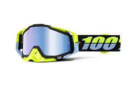 motocross goggle commencal 2016 100 goggle racecraft antigua mirror blue lens