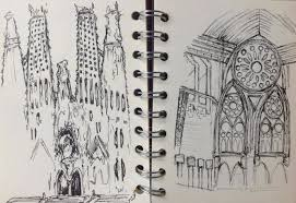 beautiful illustrations of architecture around the world an