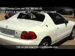 honda civic sol for sale 1997 honda civic sol si 2dr coupe for sale in apache jun