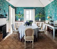 dining room wallpaper with wainscoting wallpapersafari designs blue floral wallpaper dining room designs with wainscoting