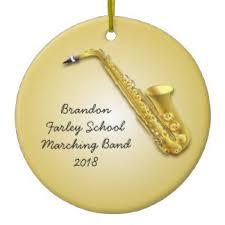 saxophone ornaments keepsake ornaments zazzle