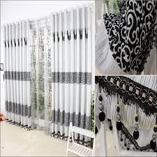 Green Burlap Curtains Bathroom Amazing Zig Zag Blackout Curtains Gray White Curtain