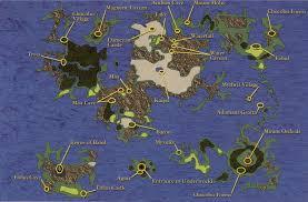Ff6 World Of Ruin Map by Image Overworldmapff4official Jpg Final Fantasy Wiki Fandom