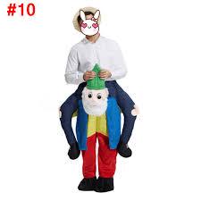 Piggyback Halloween Costume Shoulder Carry Piggy Ride Mascot Costume Fancy Dress