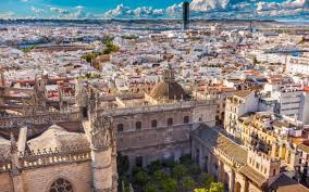 Map Of Seville Spain by A Weekend Break In Seville