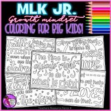 mindset coloring pages inspirational quotes by martin luther king jr
