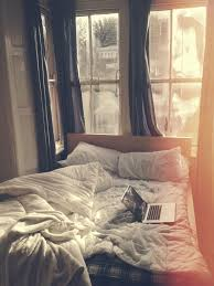lets stay in bed all day cozy just you and me together whole