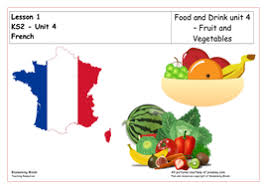 french lesson and resources ks2 fruit and vegetables by