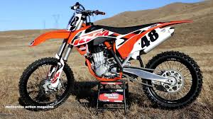 motocross action magazine first ride 2015 ktm 450sxf motocross action magazine youtube