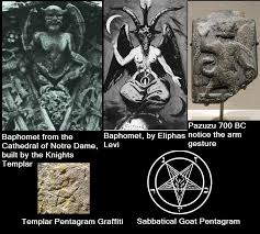 illuminati gestures baphomet up