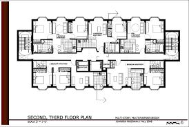 apartment simple 5 unit apartment building plans inspirational