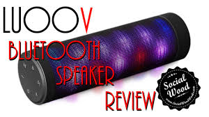 portable speaker with lights best new bluetooth speaker under 100 luoov portable speaker with