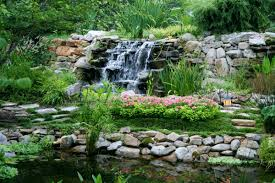 contemplative japanese waterfall garden gardenso