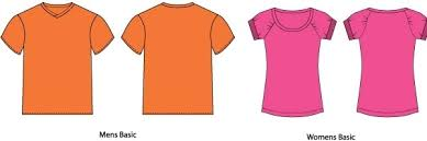 vector t shirt templates free vector in photoshop psd psd