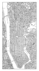 New York City Map Of Manhattan by 228 Best New York City Maps Images On Pinterest New York City
