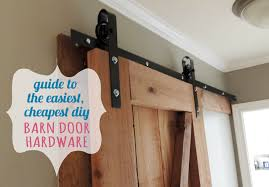 luxurius diy barn door hardware in stunning home interior design