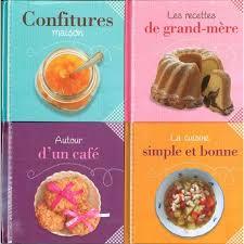 coffret livre de cuisine naturellement fait maison coffret 4 livres livre de cuisine et r