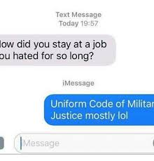 Text Message Memes - text message today 1957 ow did you stay at a job ou hated for so