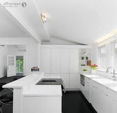 First Home Renovation White Quartz by Dark Floors White Kitchen Amazing Luxury Home Design
