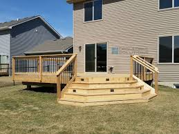 Corner Deck Stairs Design Amazing Of Corner Deck Stairs Design Simple Cedar Deck With Corner