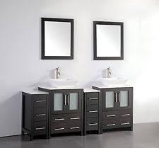 Vanity 72 Double Sink Double Sink Bathroom Vanity Ebay