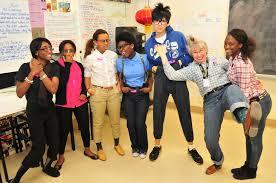 mrs ward u0027s drama class on nerd day columbia international college