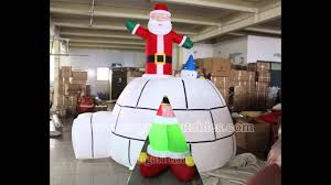 inflatable christmas decorations youtube