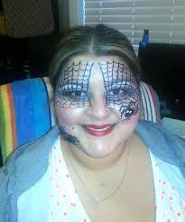 how to spider web halloween makeup look youtube