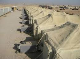 air conditioned tents among the costs of war billions a year in a c npr