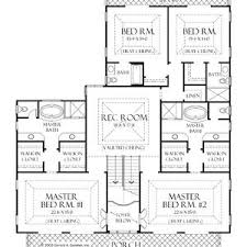 single house plans with 2 master suites house plans 2 master suites single coryc me