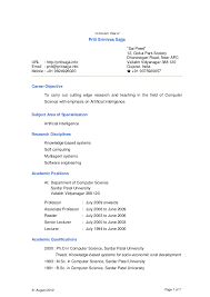 Resume Samples For Professors by Sample Resume Computer Science Teacher Resume Ixiplay Free