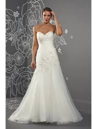 romantica cressida ruched detailed fishtail with lattice back ivory